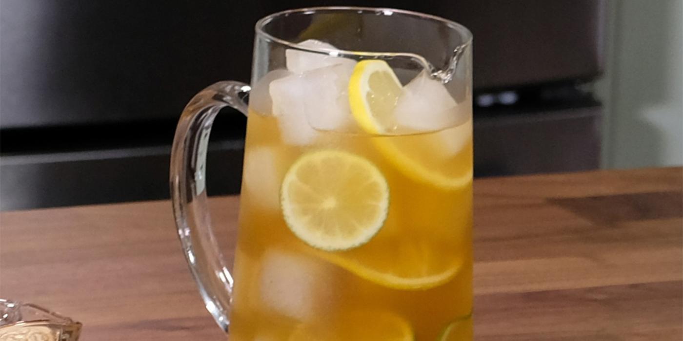 Ice Ginger Green Tea