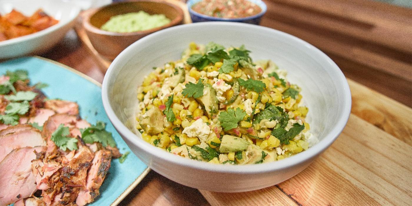 Sautéed Corn Salad