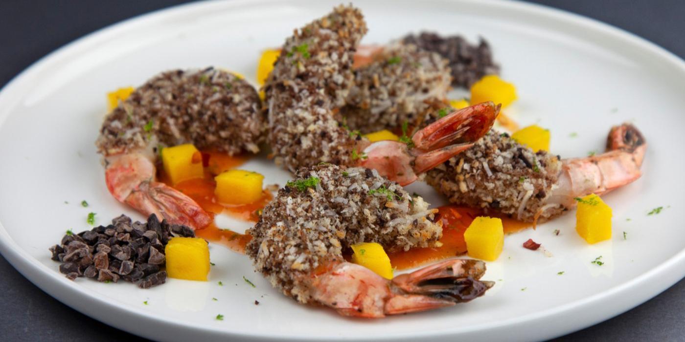 Choco-Coconut Shrimp