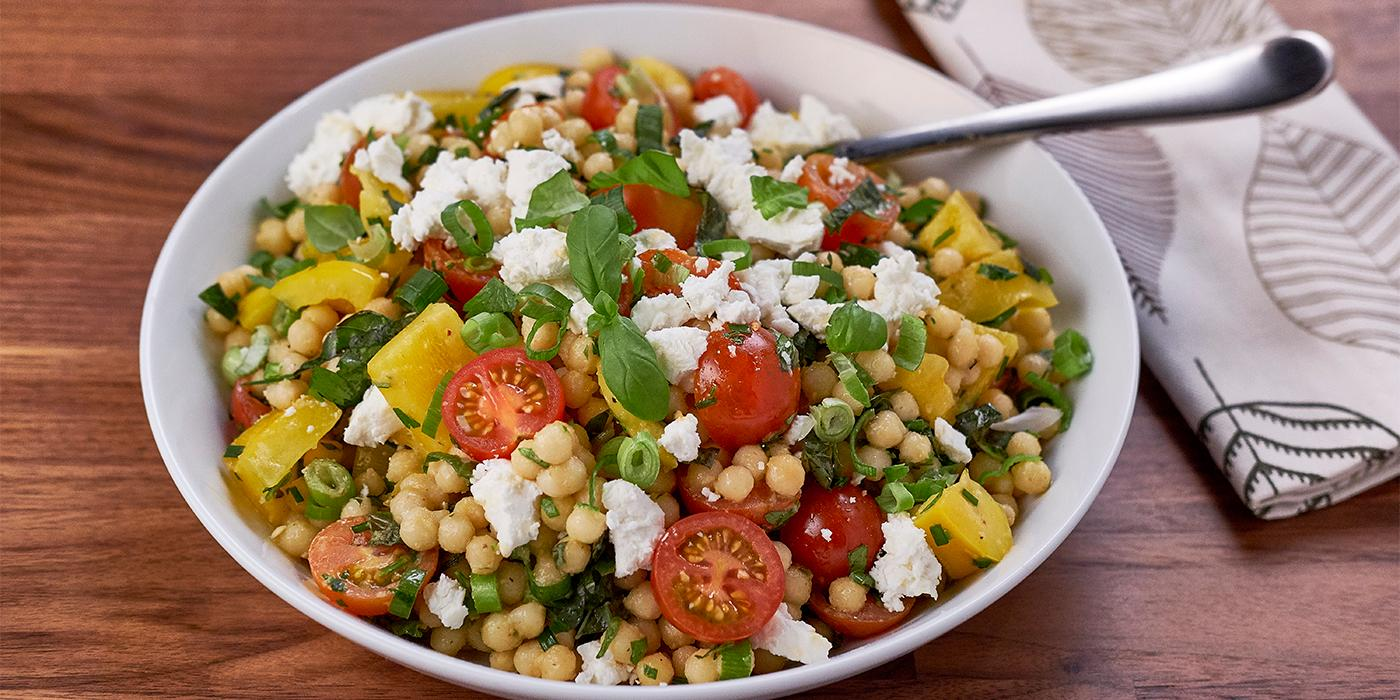Herbed Pearl Couscous