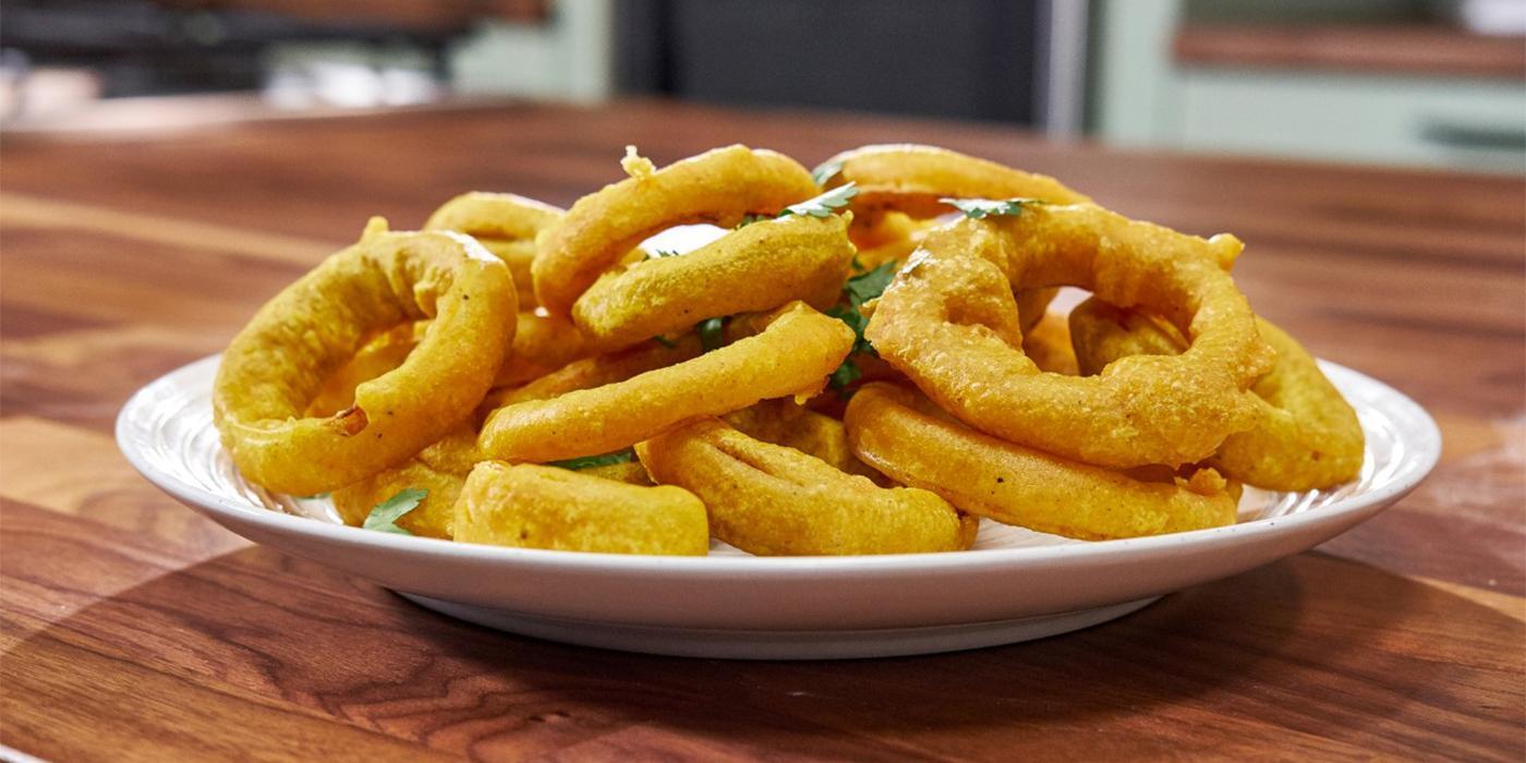 Onion Bhaji Rings
