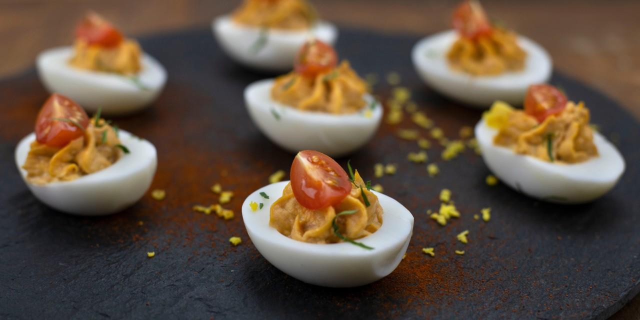 Spanish Deviled Eggs