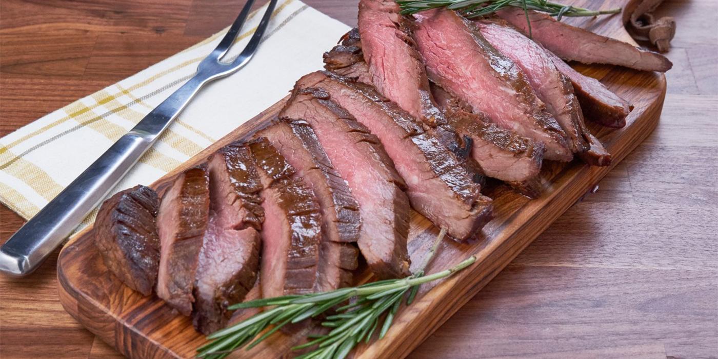 Molasses Flank Steak