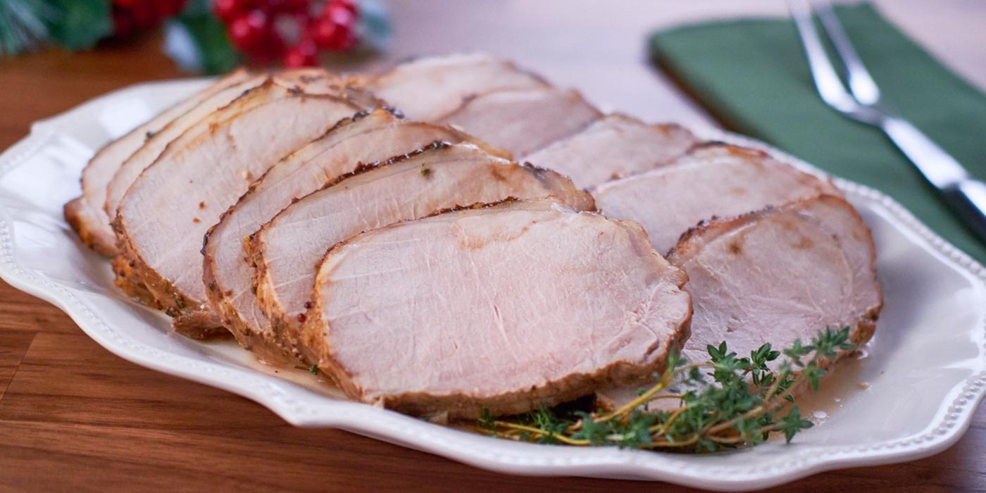 Dijon Pork Roast
