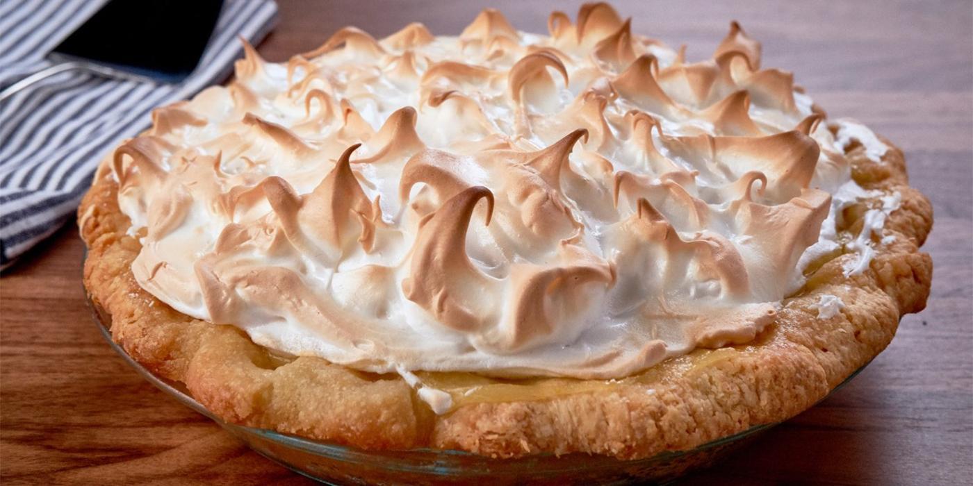 Calamansi Meringue Pie