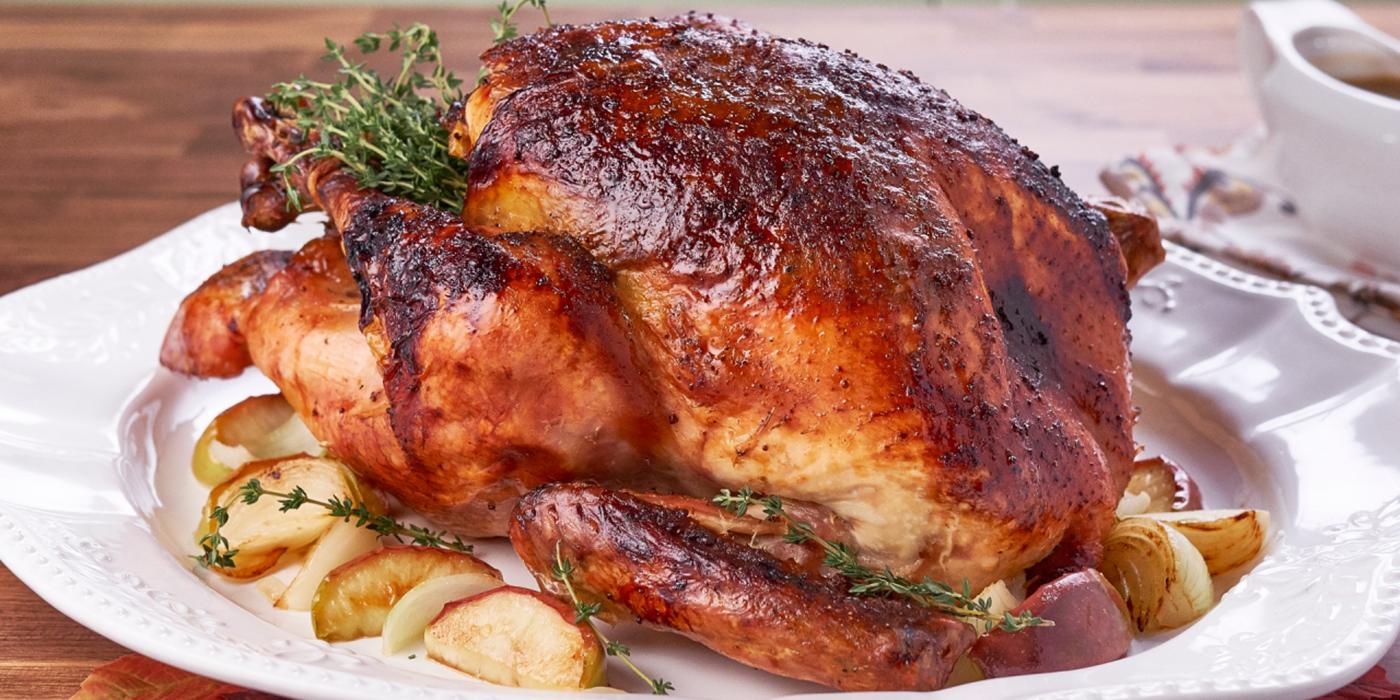 Apple Bourbon Turkey