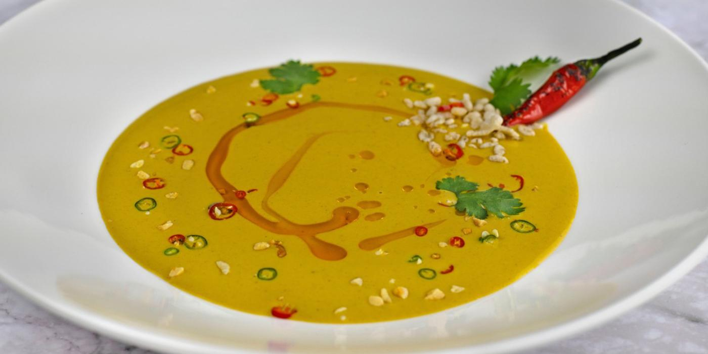 Peanut Curry Soup