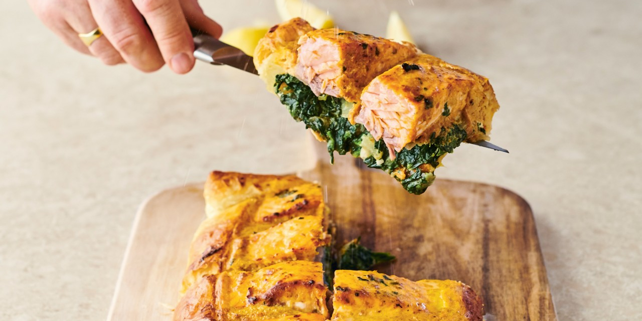 Easy Salmon En Croute