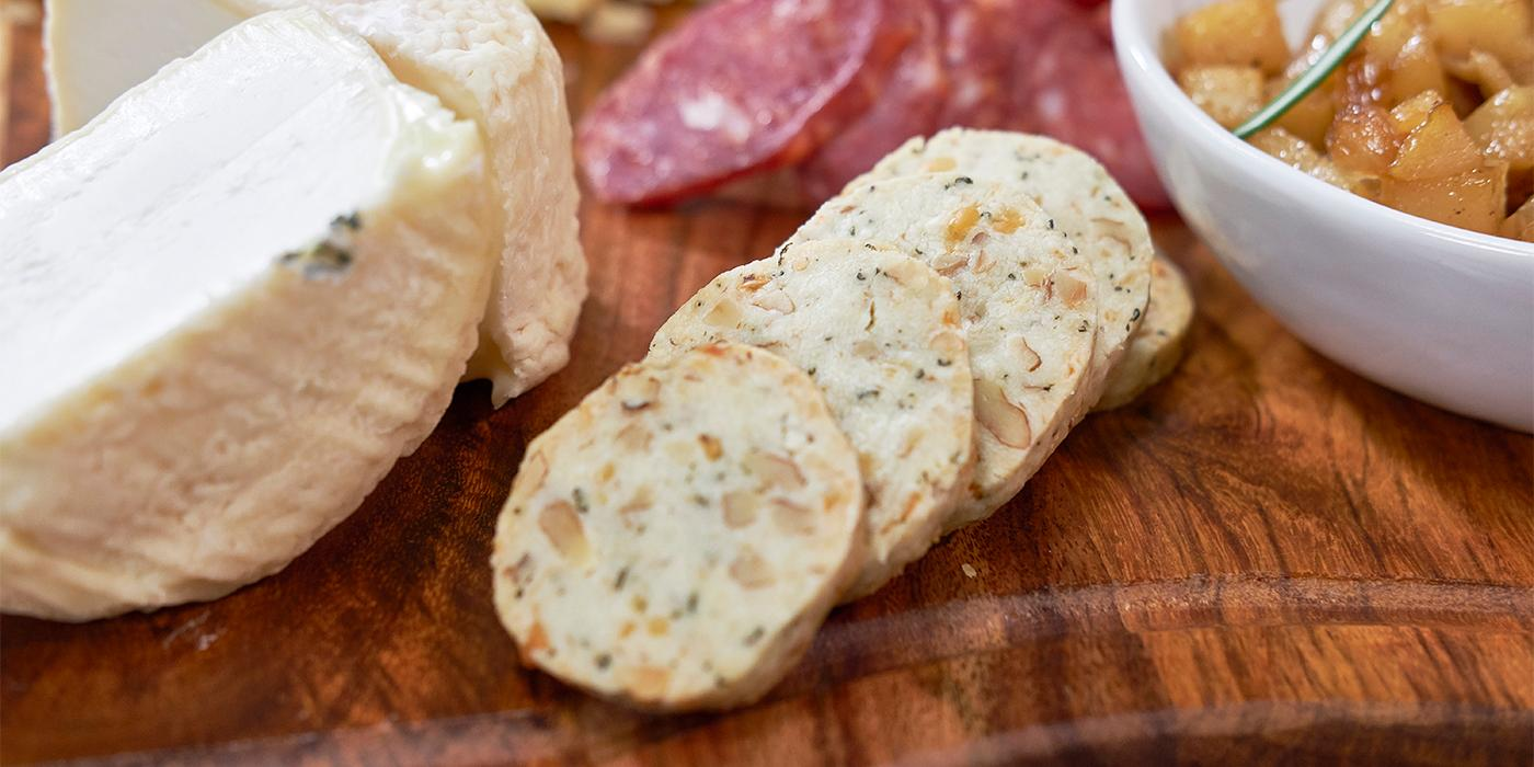 Blue Cheese Shortbread