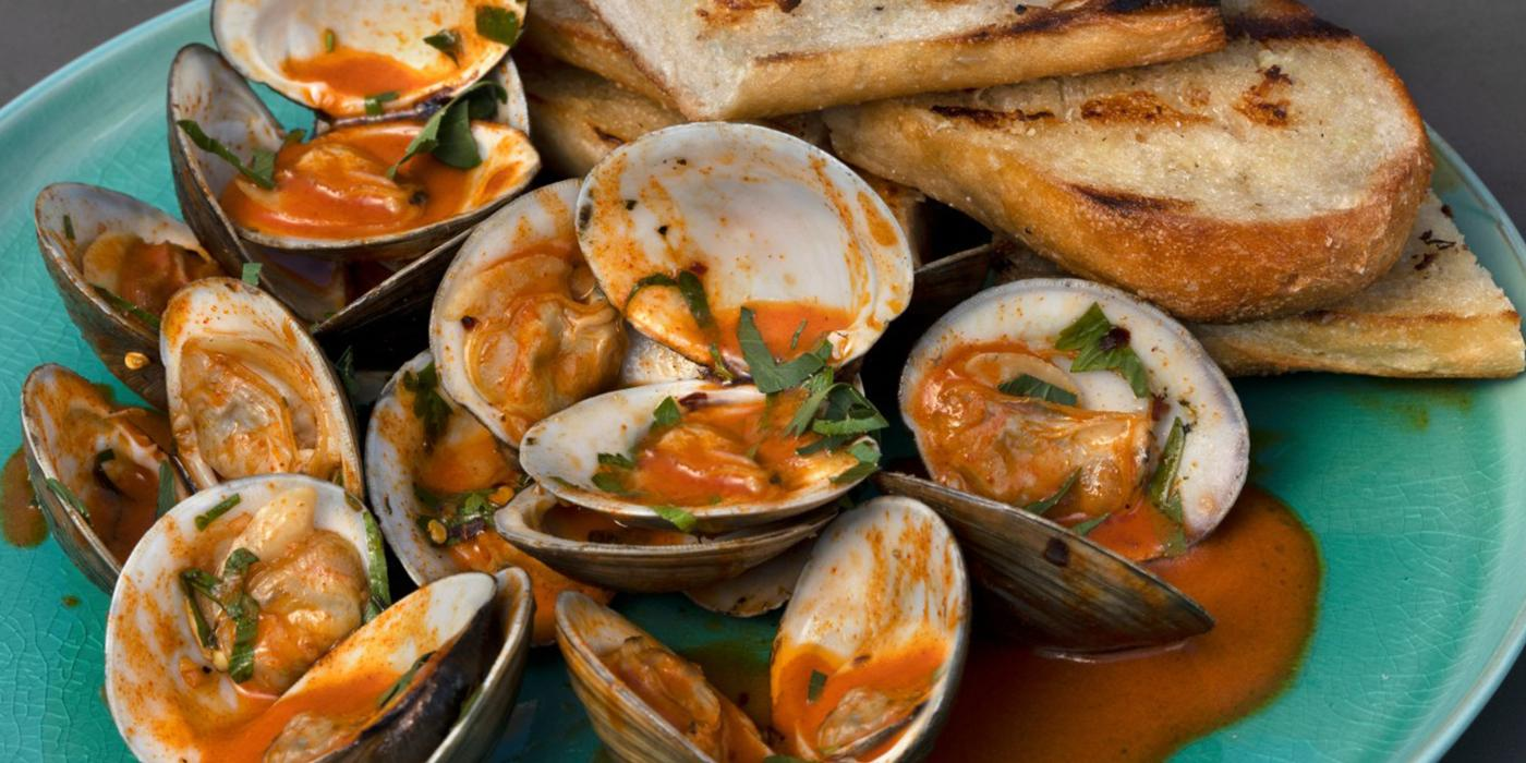 Clams with Butter