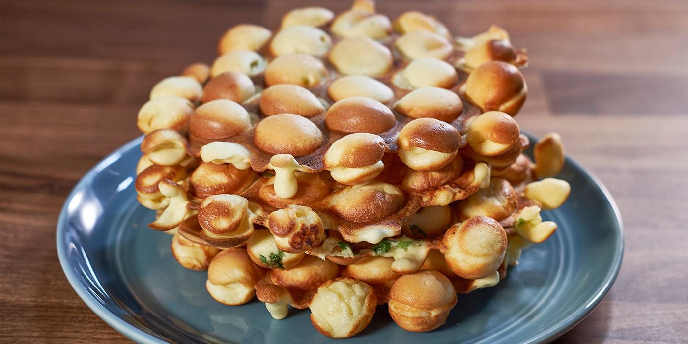 Cheddar Onion Eggettes